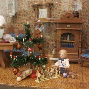 Weihnachten in der Puppenstube